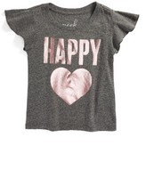 Girl's Peek Happy Tee