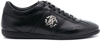 Roberto Cavalli RC monogram low-top sneakers