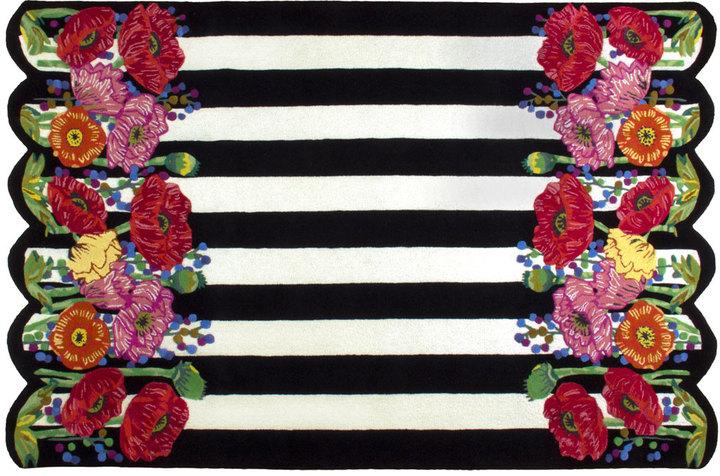 Mackenzie Childs MacKenzie-Childs Poppy Field Rug, 6' x 9'