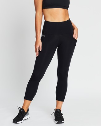 Brasilfit High-Waisted Supplex Mid-Calf Leggings with Pockets