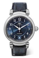 IWC SCHAFFHAUSEN Da Vinci Automatic 36 Alligator And Stainless Steel Watch - Silver