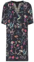 Etro Embroidered printed dress