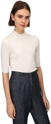 Gabriela Hearst Lvr Sustainable Cashmere & Silk Knit Top