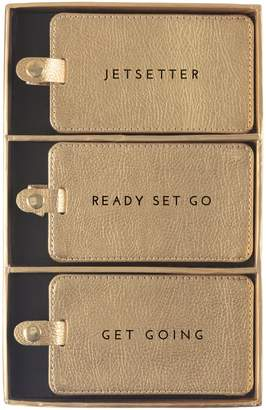 Eccolo 3-Piece Luggage Tag Set