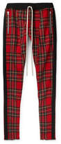 Fear Of God - Slim-fit Tapered Checked Wool Drawstring Trousers
