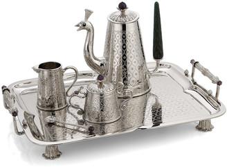 Michael Aram 20th Anniversary Mughal Tea Set