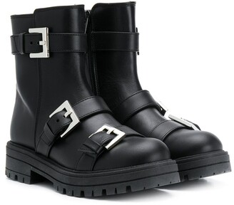 Mi Mi Sol Buckled Ankle Boots