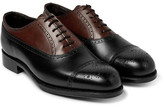 Grenson Foot the Coacher Leather Brogues