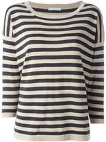 Societe Anonyme square cut knit top