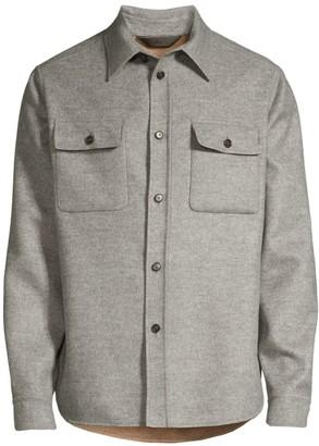 Brioni Wool & Cashmere Overshirt