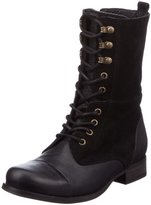Diesel Womens The Wild Land Give Suede Combat Lace-Up Boot 7.5