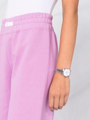 GCDS Slouchy Cotton Track Pants