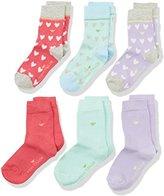 Tom Tailor Girl's 9362A Calf Socks (Pack Of Six), (Mehrfarbig), 5