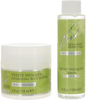 Nick Chavez Velvet Mesquite 4-oz Serum with 4-oz Body Butter