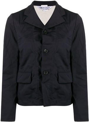 Comme des Garçons Comme des Garçons Single-Breasted Fitted Jacket