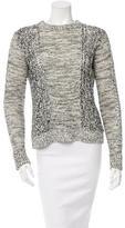 Diane von Furstenberg Knit Linen Sweater