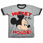 Freeze Gray 'Mickey in the House' Tee - Toddler & Boys