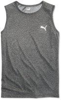 Puma Heathered Logo Tank Top, Big Boys (8-20)