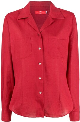 Balenciaga Pre Owned 2000s Patch-Pocket Shirt