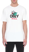 Obey D.o.a. Cotton-jersey T-shirt