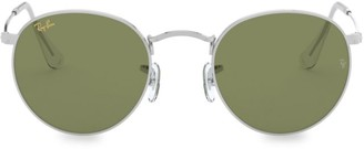 Ray-Ban RB3447 47MM Oval Metal Sunglasses