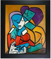 Picasso by Nora III - Framed Oil Reproduction of an Original Painting by Nora Shepley