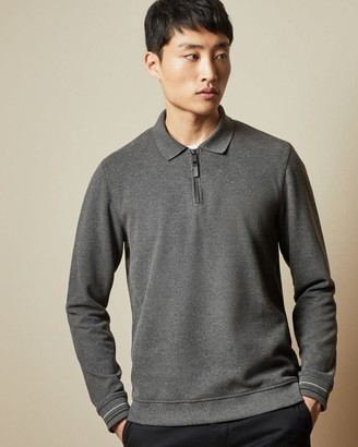 Ted Baker Half Zip Polo Jumper