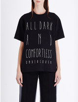Undercover Shakespeare text-print cotton-jersey t-shirt