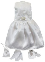The Queen's Treasures® 18 Inch Doll Clothes, Gala Party Gown, Bag , Ballet Shoes, Garment Bag & Hanger