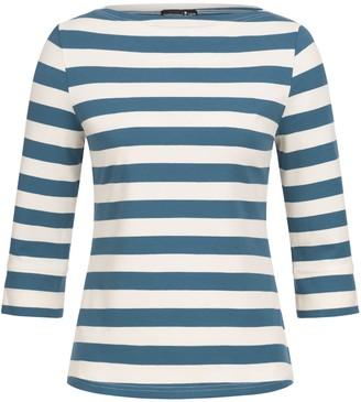 Marianna Déri Anna Top Blue Striped