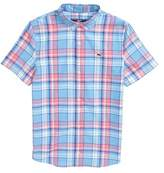 Vineyard Vines Bluff House Plaid Woven Shirt