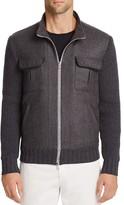 Eleventy Storm System® Zip Sweater Jacket