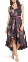 Eliza J Women's Belted Print High/low Party Dress