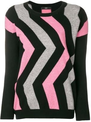 Steffen Schraut geometric sweater