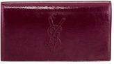 Saint Laurent Belle De Jour Clutch Bag, Purple