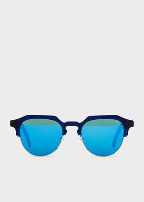 Paul Smith Deep Navy 'Barber' Sunglasses