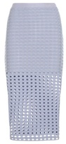 Alexander Wang Perforated jersey skirt