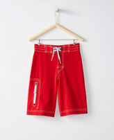 Hanna Andersson Land + Water Board Shorts With UPF 50+