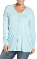 Sejour V-Neck Sweater (Plus Size)
