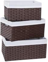 Redmon 3-Piece Basket Storage Set, by
