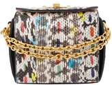 Alexander McQueen Small Snakeskin Box Bag