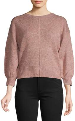 Joie Crewneck Wool-Blend Sweater