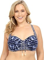 Bleu Rod Beattie Bleu | Rod Beattie Women's Plus Size I've Got You Babe Sling X-Back Molded Bikini Top