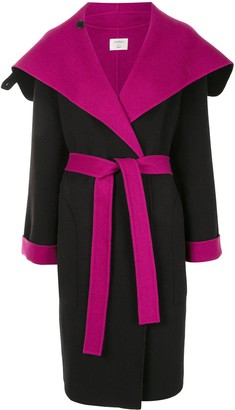 Onefifteen Colour-Block Wool-Blend Coat