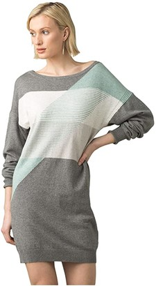 Prana Anka Dress (Heather Grey) Women's Clothing