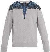 Marcelo Burlon County of Milan Amell crew-neck cotton sweatshirt