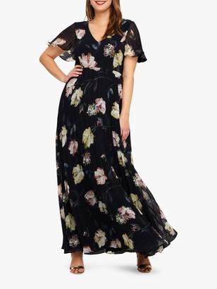 Studio 8 Megan Maxi Dress, Navy Multi
