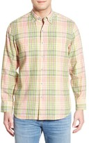 Tommy Bahama Men's 'Sun Direction' Regular Fit Plaid Sport Shirt