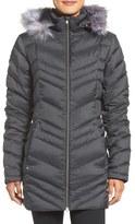 Spyder Women's Faux Fur Trim Down Jacket