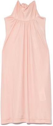 No.21 Sleeveless Turtleneck Top in Pink